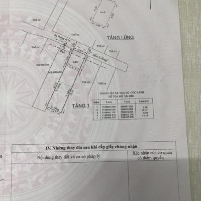 Bán nhà hẻm Đường số 21, Phường 8, Gò Vấp, 3,2 x 14m, nở hậu 3,4m, cấp 4 lửng, gần trường Nguyễn Công Trứ, giá 3,3 tỷ