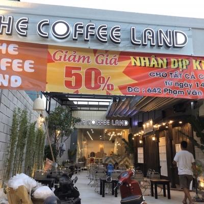 Cho thuê quán coffee 642 phạm văn chiêu, Phường 13, Gò Vấp, 6,5x42m, cấp 4, 35 triệu/tháng