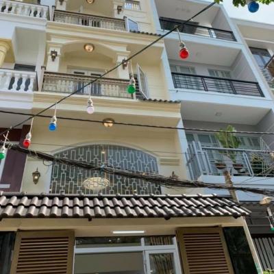 Bán nhà hẻm 549/28/2J Lê Văn Thọ, Phường 14, Gò Vấp, 4x14m, 4,5 lầu, 6,6 tỷ
