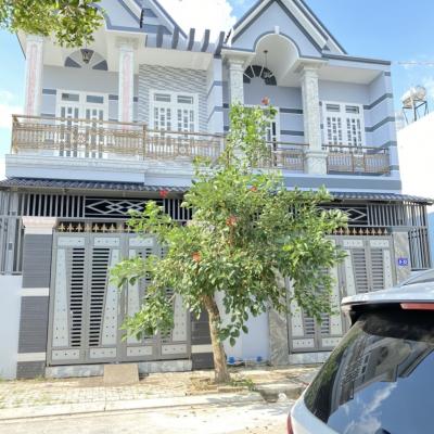 Bán nhà MT D-33 Đường số 5, Xã Hạnh Nam, Huyện Đức Hòa, Tỉnh Long An, 5x15m, 2 lầu, 2,1 tỷ