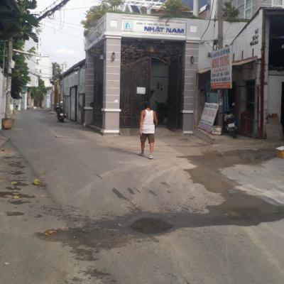 Bán nhà hẻm 44/24 Phạm Văn Chiêu, Phường 8, Gò Vấp, 9,1x40m, NH 24m, cấp 4, 26 tỷ