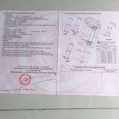 Bán khách sạn 514 Phan Văn Trị, Phường 7, Gò Vấp, 4,3x26m, 4,5 lầu, 22 tỷ