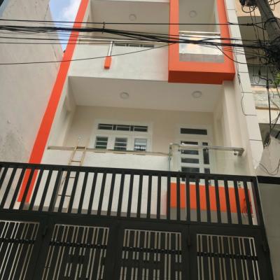 Bán nhà hẻm 269/34/3 Phan Huy Ích, Phường 14, Gò Vấp, 4,2x15m, 4 lầu, 5,9 tỷ